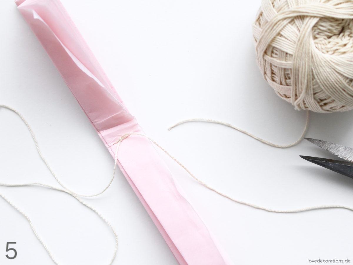DIY Paper Pompoms | DIY Papier Pompoms