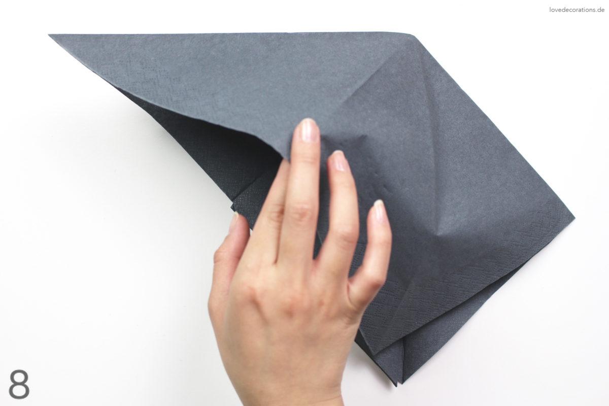 DIY Napkin Folding: Pumpkin | DIY Serviette falten: Kürbis