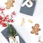 DIY weihnachtliche Fimo Namensschilder mit STAEDTLER*