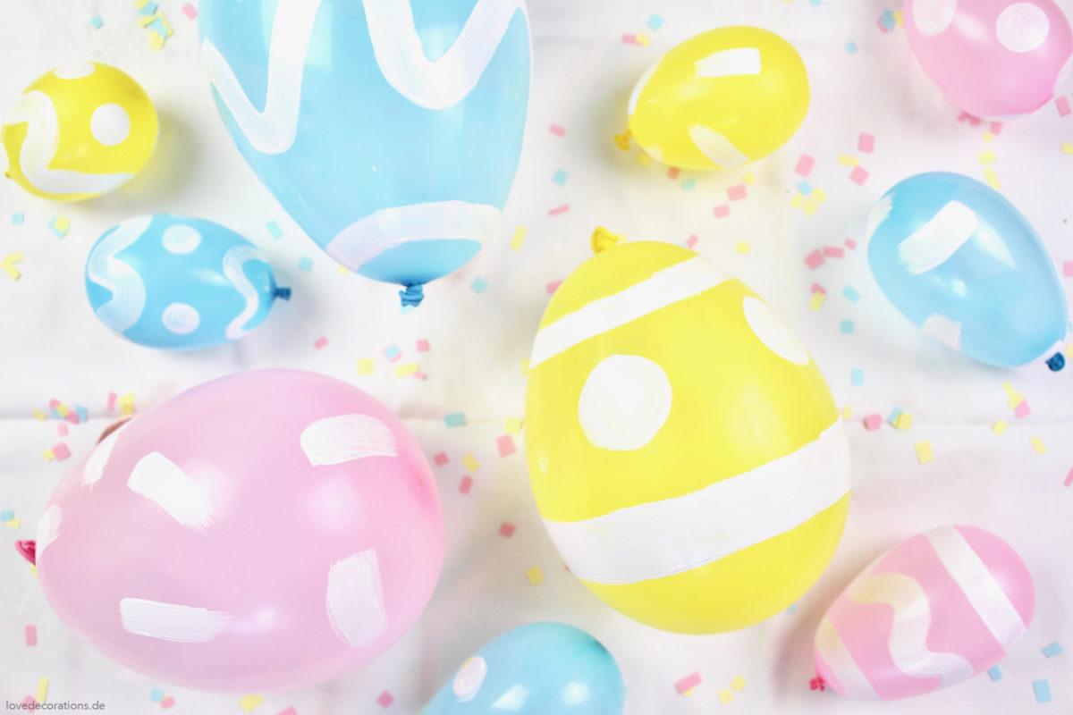 DIY Easter Egg Balloons | DIY Osterei Luftballon