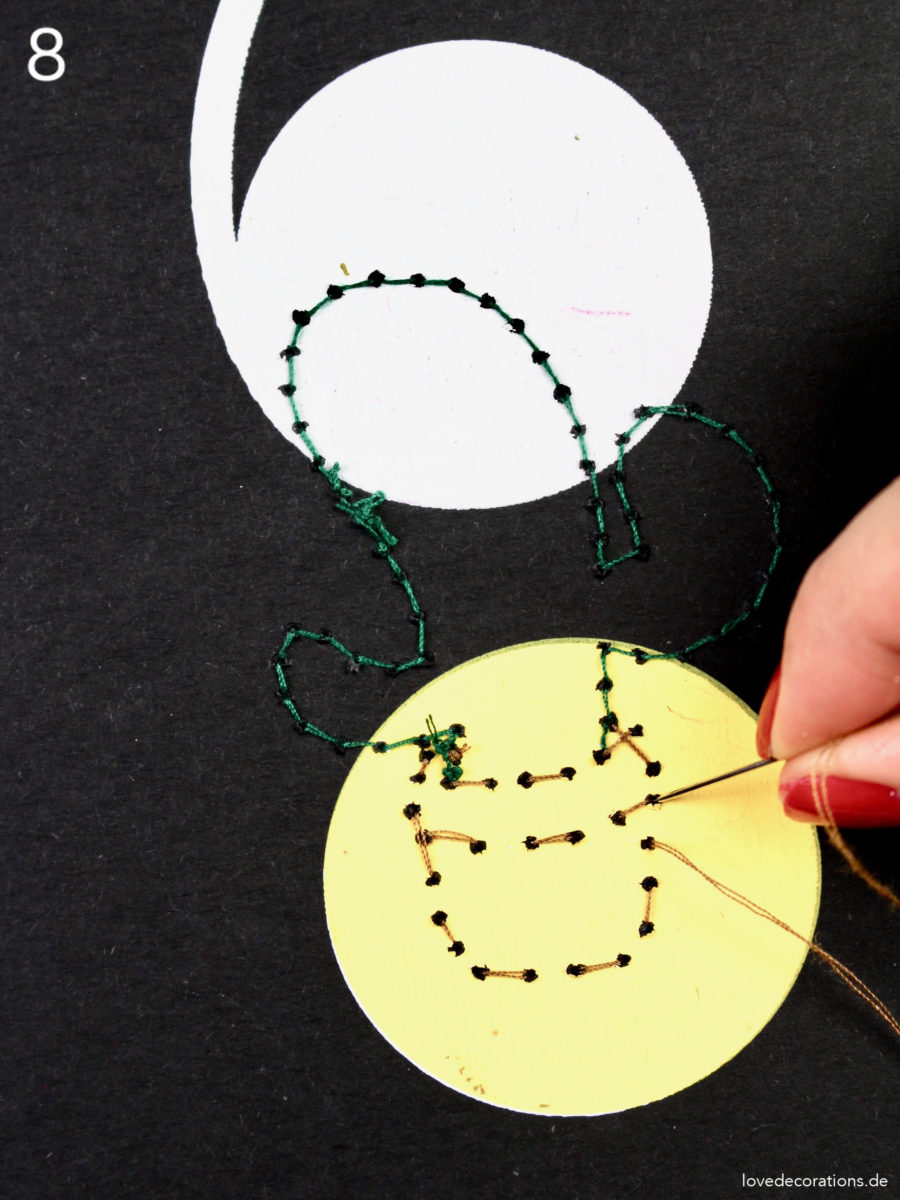 DIY Notizbücher mit Kakteen besticken | DIY embroided Notebook Cover with Cactus