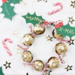 DIY süßer Weihnachtskranz Mitbringsel | Create Yourself A Merry Little Christmas – Türchen Nr. 15
