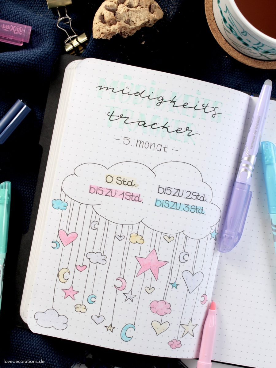 DIY Schwangerschafts-Tagebuch (Bullet Journal) – Oh my Baby! | DIY Pregnancy Diary (Bullet Journal) – Oh my Baby!