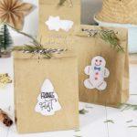 DIY Geschenktüten mit Weihnachtsmotiven | #createyourselfamerrylittlechristmas – Türchen Nr. 12