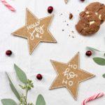 DIY weihnachtliche Kork-Untersetzer: Stern | #12GIFTSWITHLOVEgoesXMAS 2020 – missredfox Adventskalender