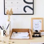 DIY Papierablage aus Kork | Ordnung im Bastelzimmer-Blogparade