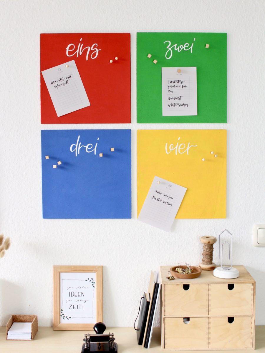 DIY Microsoft Kork Pinnwand #KreativMitMicrosoft