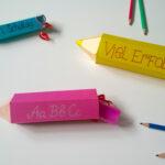 Süße Verpackung: Stifte