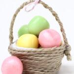 DIY Mini-Körbchen – kleines Mitbringsel für Ostern